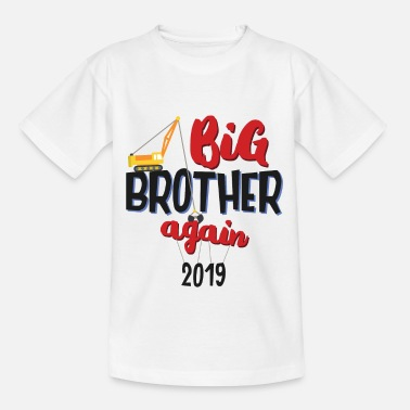 Offspring Offspring 2019 - Regalo de conductor de grúa hermano mayor - Camiseta adolescente