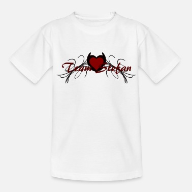 Vampire team stefan - Teenage T-Shirt