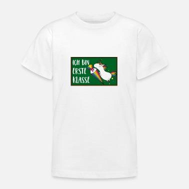 Ich Bin Erste Klasse Sprüche Shirt Athletbook