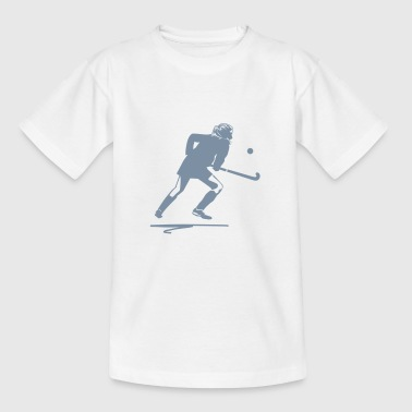 Field Hockey I Love Hockey Field hockey player - Teenage T-Shirt