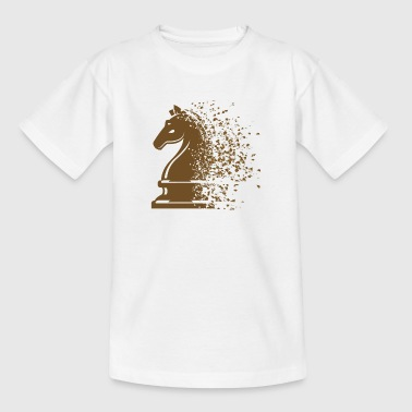 Chess chess piece horse - Teenage T-Shirt