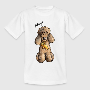 Pudel Play - Teenager T-Shirt