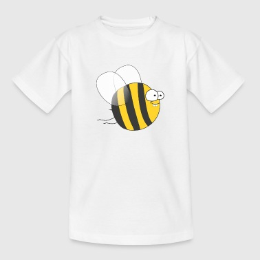 Cool & Crazy Funny Bee / Bumble Bee (Sweet & Cute) - Teenage T-Shirt