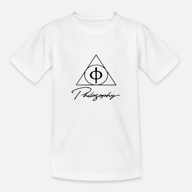 Filosofie Originele filosofie - Teenager T-shirt
