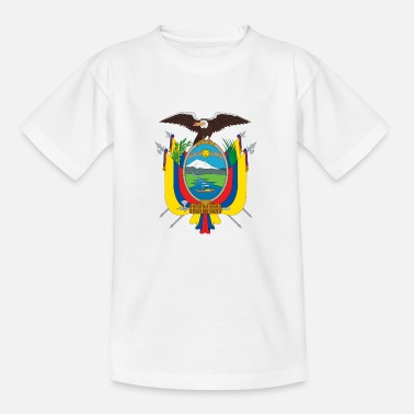 Santo Domingo National Coat of Arms of Ecuador - Teenage T-Shirt