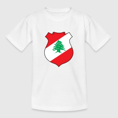 National Coat of Arms of Lebanon - Teenage T-Shirt