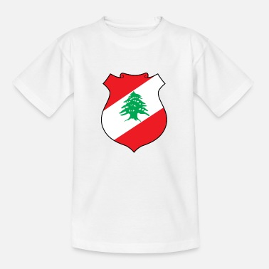 Hezbollah Nationaal Wapenschild van Libanon - Teenager T-shirt