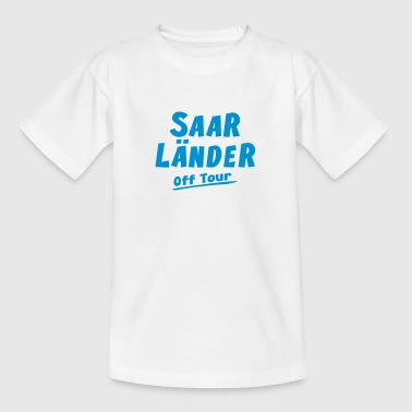 Saarlaender off Tour Saarland Shirt - Teenager T-Shirt