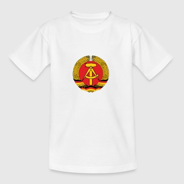 National-socialisme Armoiries nationales de Allemagne de l Est - T-shirt Ado