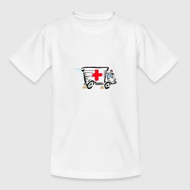 Krankenwagen / Ambulanz - Teenager T-Shirt