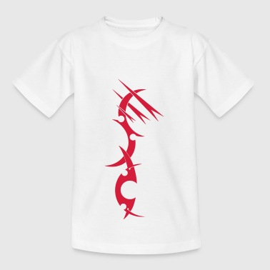 Conception de tatouage rouge - T-shirt Ado