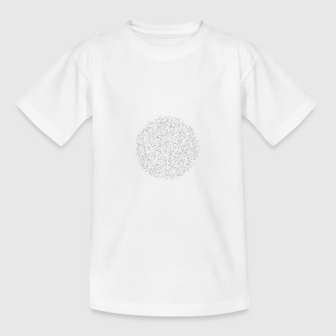 Trippy-geometrie - Teenager T-shirt