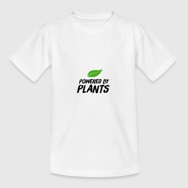 Powered by Plants sheet - Teenager T-shirt