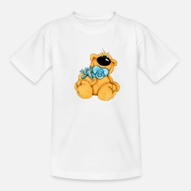 Baby Bruiloft Doop Hello Baby Bear - Teenager T-shirt