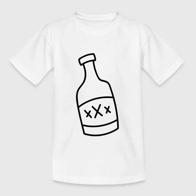Botella de licor - Camiseta adolescente