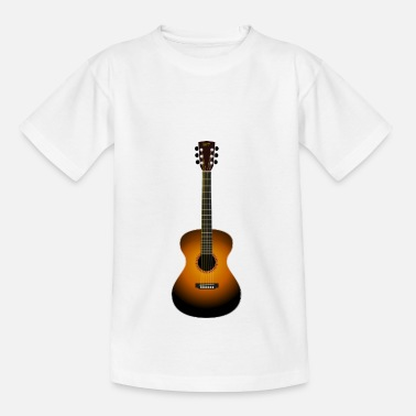 Guitare Acoustique guitare acoustique - T-shirt Ado