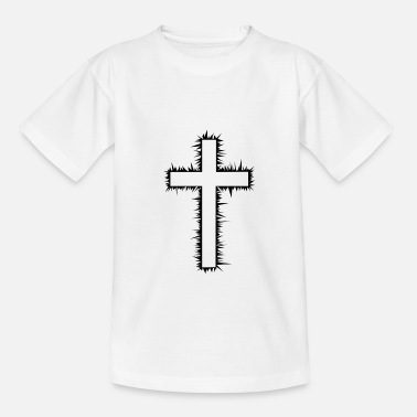 Cross Christianity Christian Cross - Teenage T-Shirt
