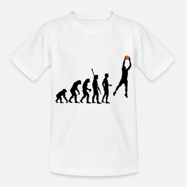 Evolution Basket evolution_basketball_072011_a_2c - Teenage T-Shirt