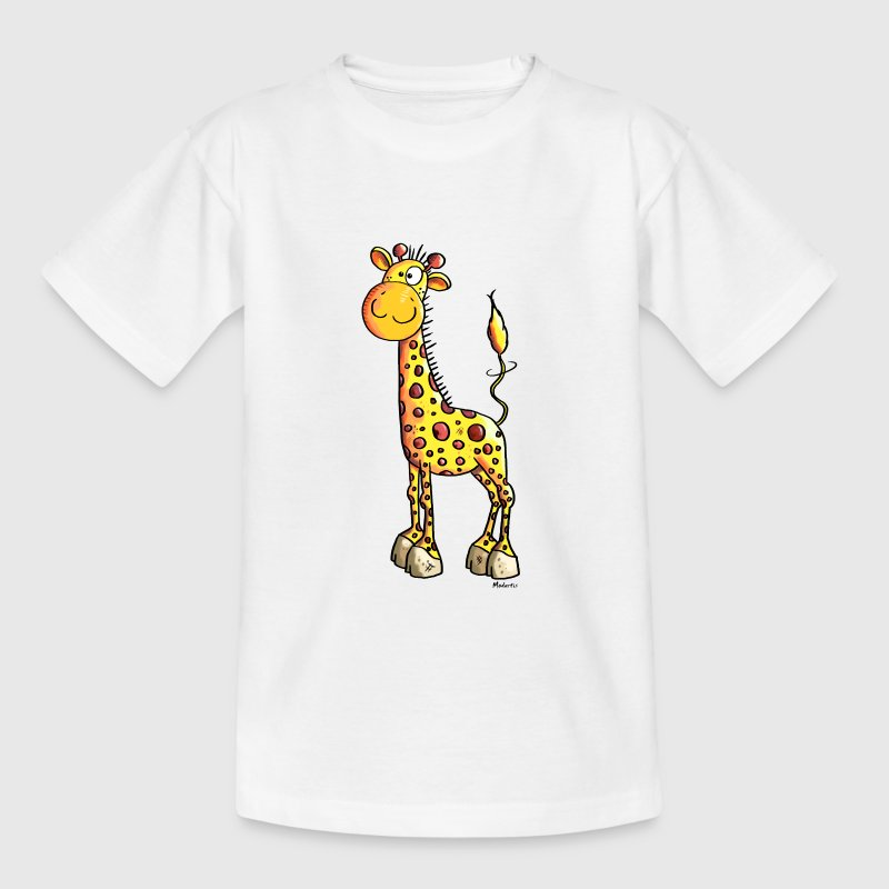 Cute Giraffe - Teenage T-Shirt