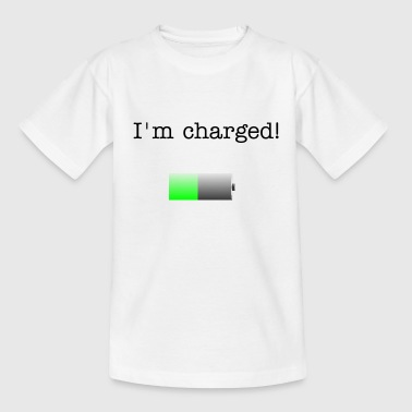 Battery - Teenager T-Shirt