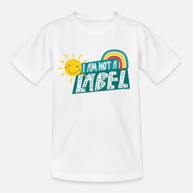 Label Ich bin kein Label - Teenager T-Shirt