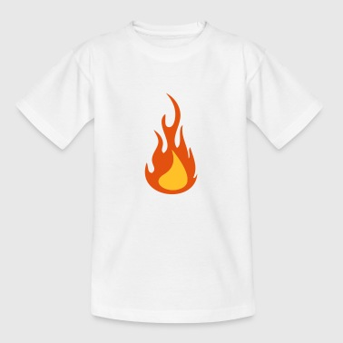 Feuer / Flamme - Teenager T-Shirt