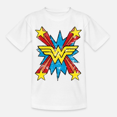 Wonder Woman DC Comics Wonder Woman Retro Symbol Vintage - Teenager T-shirt