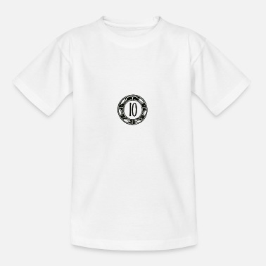 Tenor TEN - 10 - TEN - T-shirt tonåring