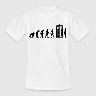 Evolution Tardis - Teenage T-shirt