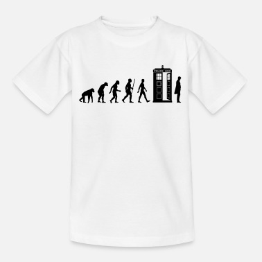 Evolution Evolution Tardis - Teenage T-Shirt