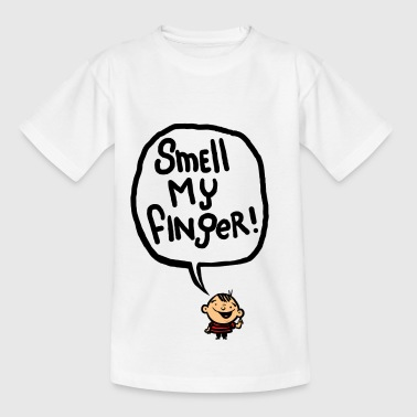 Smell my Finger - Teenage T-Shirt