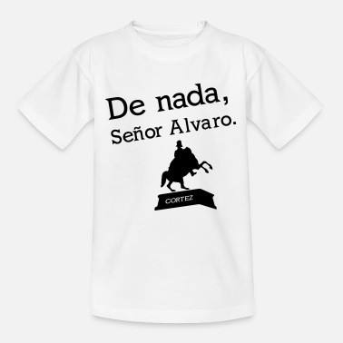 Álvaro Senor Alvaro - Teenager T-Shirt