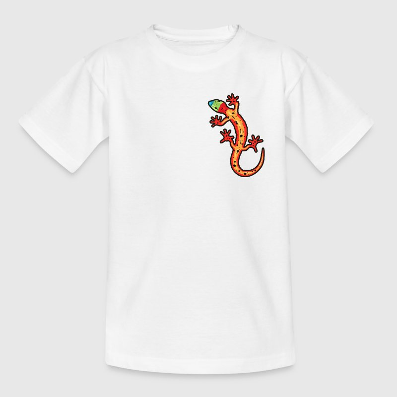 Lézard multicolore - T-shirt Ado