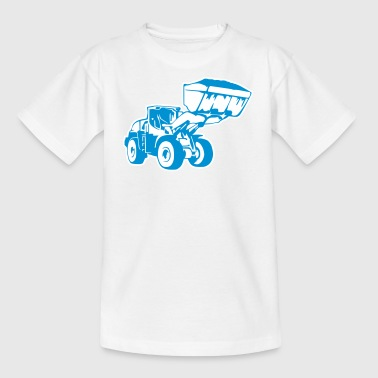 Radlader, Wheel Loader (2 color) - Teenage T-Shirt