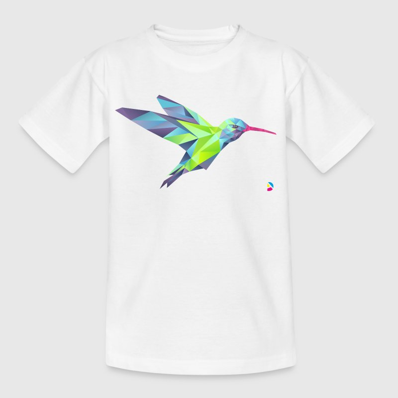 AD Geometric Hummingbird - Teenage T-shirt