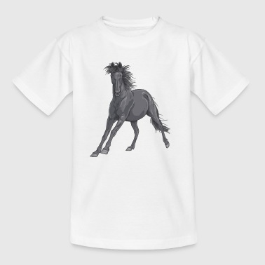 Pferd horse - Teenager T-Shirt
