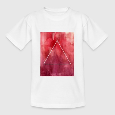 Watercolor Triangle - Teenager T-Shirt