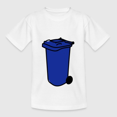blaue Tonne - Teenager T-Shirt