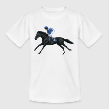 Black Racehorse - Teenager T-Shirt