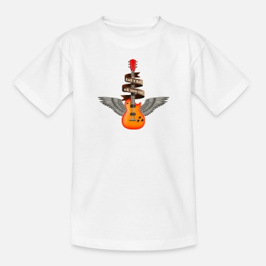 Extremoduro rock_guitar_a_red - Camiseta adolescente