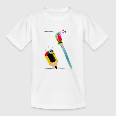 Magic Brush - Teenager T-shirt