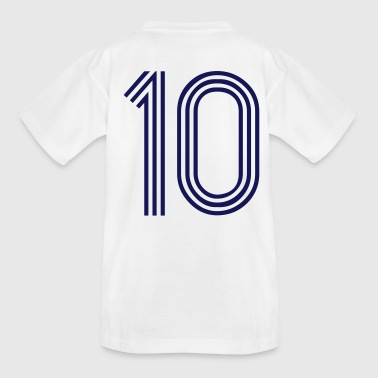 10, best football, fußball, football, soccer, sports, Zahlen, Ziffern, Numbers, Rennen, Race, www.eushirt.com - Camiseta adolescente