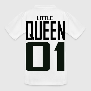 XXXXL LOGO LITTLE QUEEN 01.png - Teenager T-Shirt
