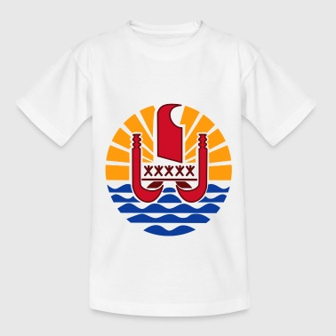 National coat of arms of French Polynesia - Teenage T-Shirt