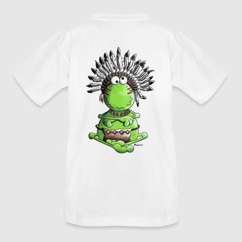 Häuptling Frosch - Indianer - Teenager T-Shirt