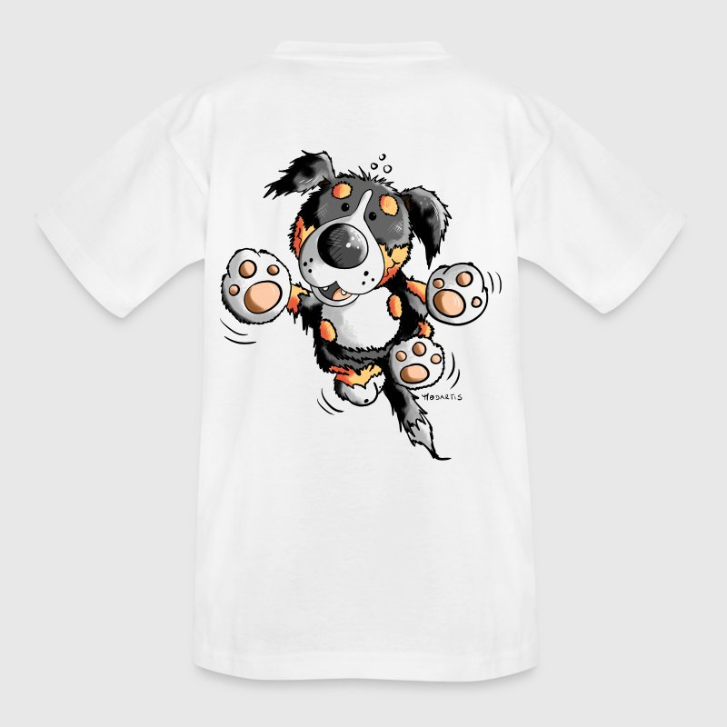 Funny Bernese Mountain Dog  - Teenage T-shirt