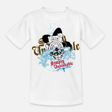 Teenagers' Premium Shirt SpongeBob 'Simply Unsinka - Teenager T-shirt