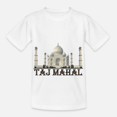 Graf Taj Mahal India Namaste Agra - Teenager T-shirt