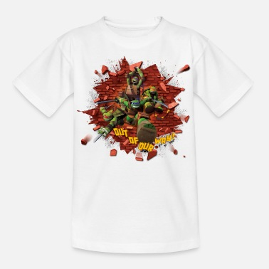 Turtles Teenage Shirt TURTLES 'Out of our way!' - T-shirt teenager