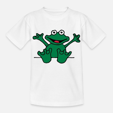 Valentinstag heart_frog_1220113c_e - Teenager T-Shirt